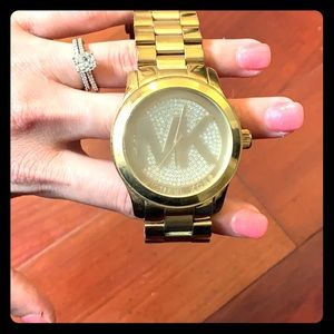 Michael Kors Gold Outlet Watch